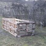 Paletový kompostér