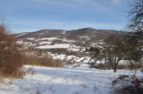 pohľad na dedinu