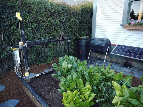 záhrada s Farmbotom