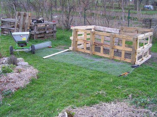 druhý kompostér