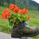 Správna obuv záhradkára