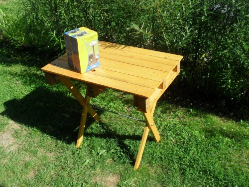 stolík z palety