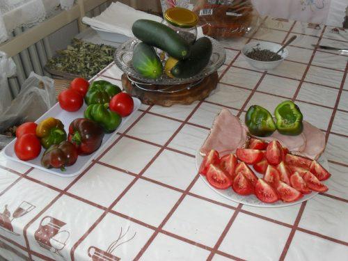 zeleninové raňajky
